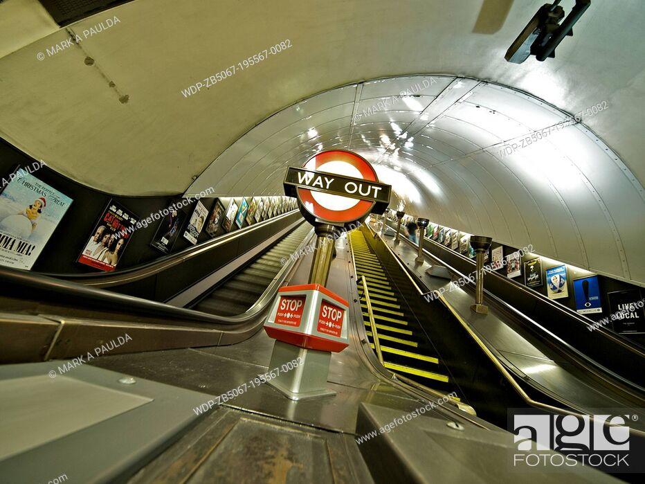 Imagen: Jubillee Line London England.