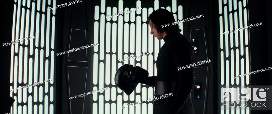"Stock Photo: """"""Star Wars: The Last Jedi"""" (2017) Kylo Ren (Adam Driver) Lucasfilm Ltd."
