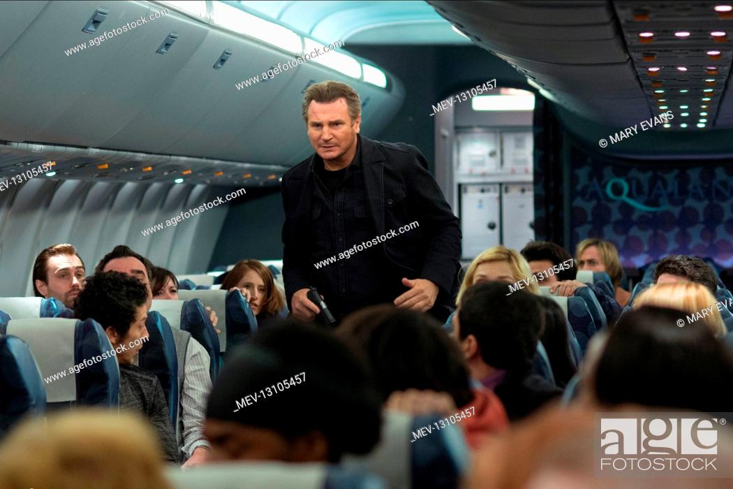 Liam Neeson Characters Bill Marks Film Non Stop 2014 Director Jaume Collet Serra 27 January Stock Photo Picture And Rights Managed Image Pic Mev 13105457 Agefotostock