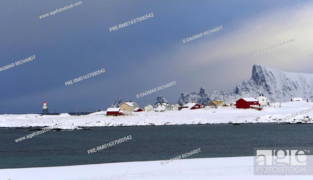 Stock Photo: Andøya, Vesterålen, Nordland, Norway / Andøya, Vesterålen, Nordland, Norwegen.