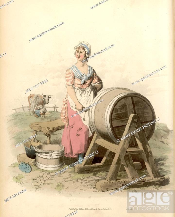 Churning Er She Is Working A Barrel