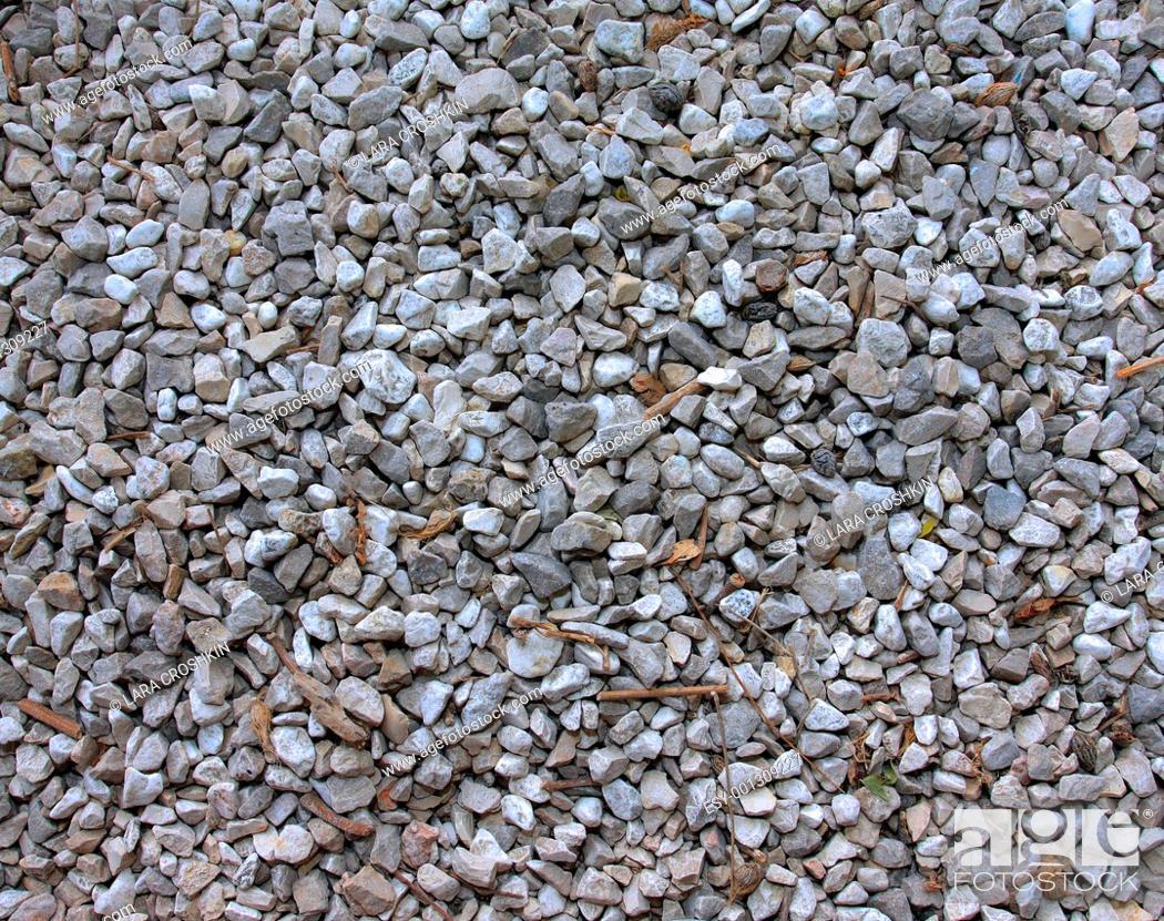 Stock Photo: Gravel texture background.
