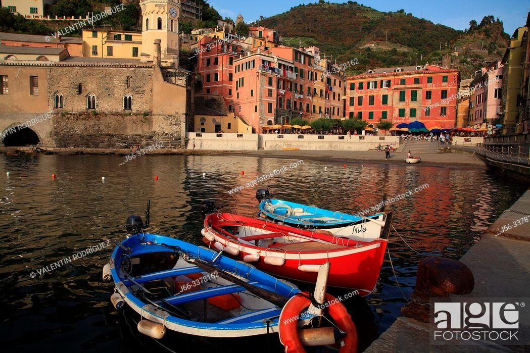 Imagen: Vernazza. Cinque Terre.