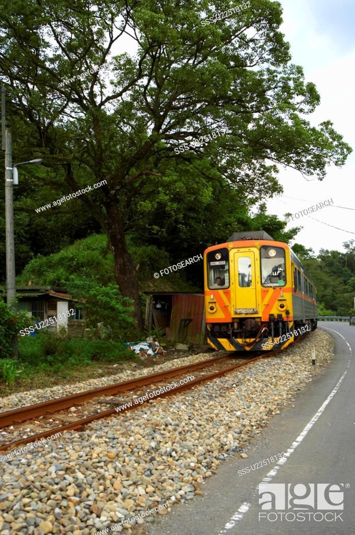 Stock Photo: Ping Si Railway, Taiwan.