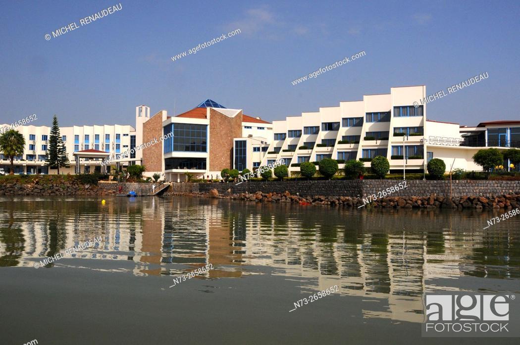 Stock Photo: Ethiopie, région Amhara, Le Lac Tana , Bahir Dar.