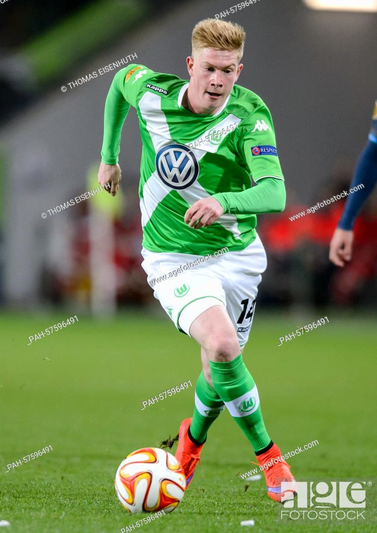 info for 2d185 05ae2 Wolfsburg's Kevin De Bruyne in action during the UEFA Europa ...