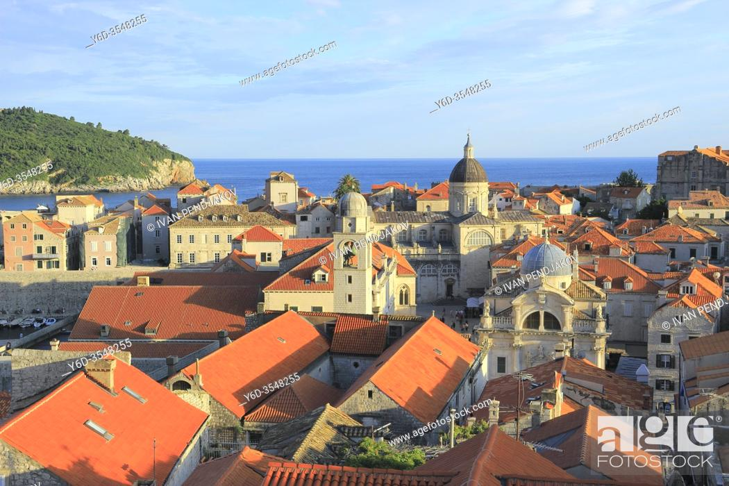 Stock Photo: Old Town of Dubrovnik, Croatia.