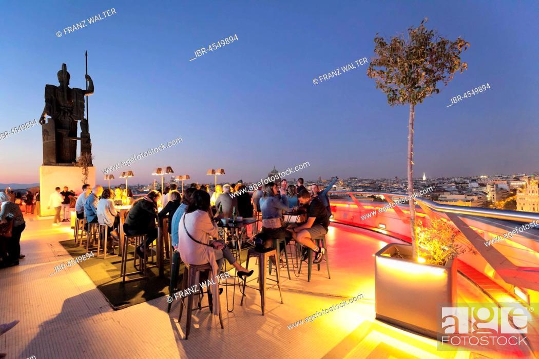 Rooftop Bar La Azotea Del Circulo Circulo De Bellas Artes