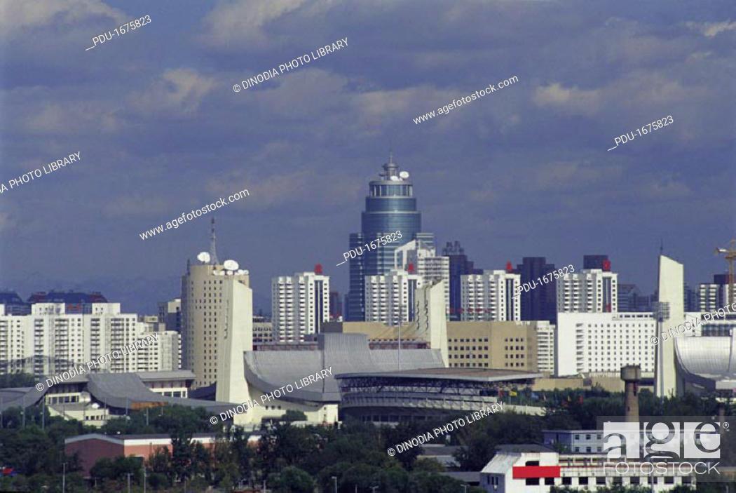 Stock Photo: Skyline- Beijing, China.