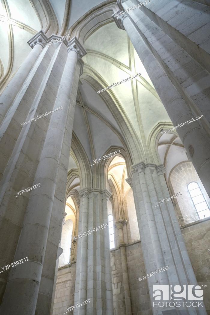 Stock Photo: Monastery Santa Maria de Alcobaça, Portugal.