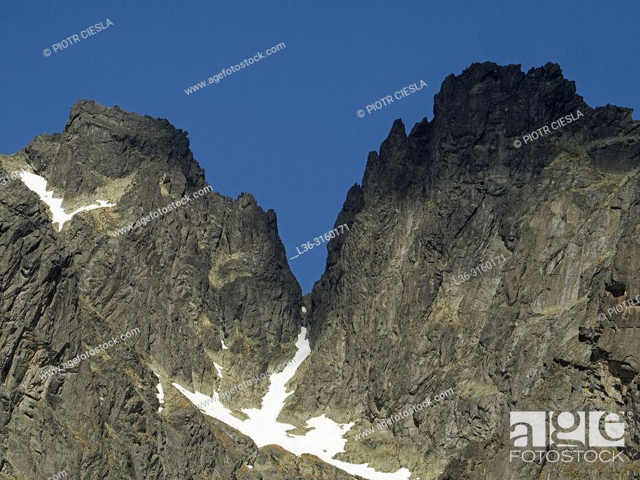 Stock Photo: Tatra mountains. Slovakia.