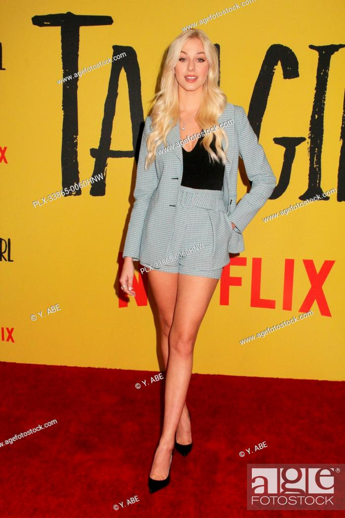 """Stock Photo: Jackie Jacobson 09/09/2019 The Los Angeles Special Screening of """"""""Tall Girl"""""""" held at the Netflix in Los Angeles, CA Photo by Y."""
