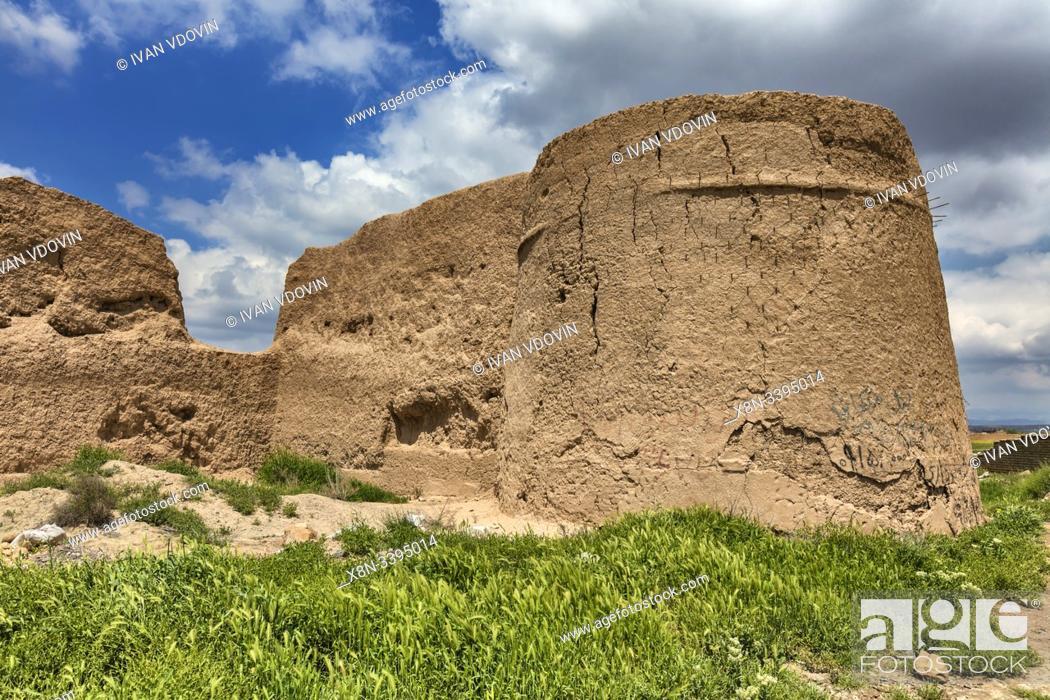 Stock Photo: Ruins of ancient city of Tus, Khorasan Razavi Province, Iran.