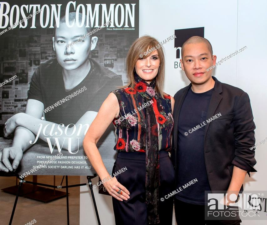 Boston Common Magazine celebrates Jason Wu with Saks Fifth