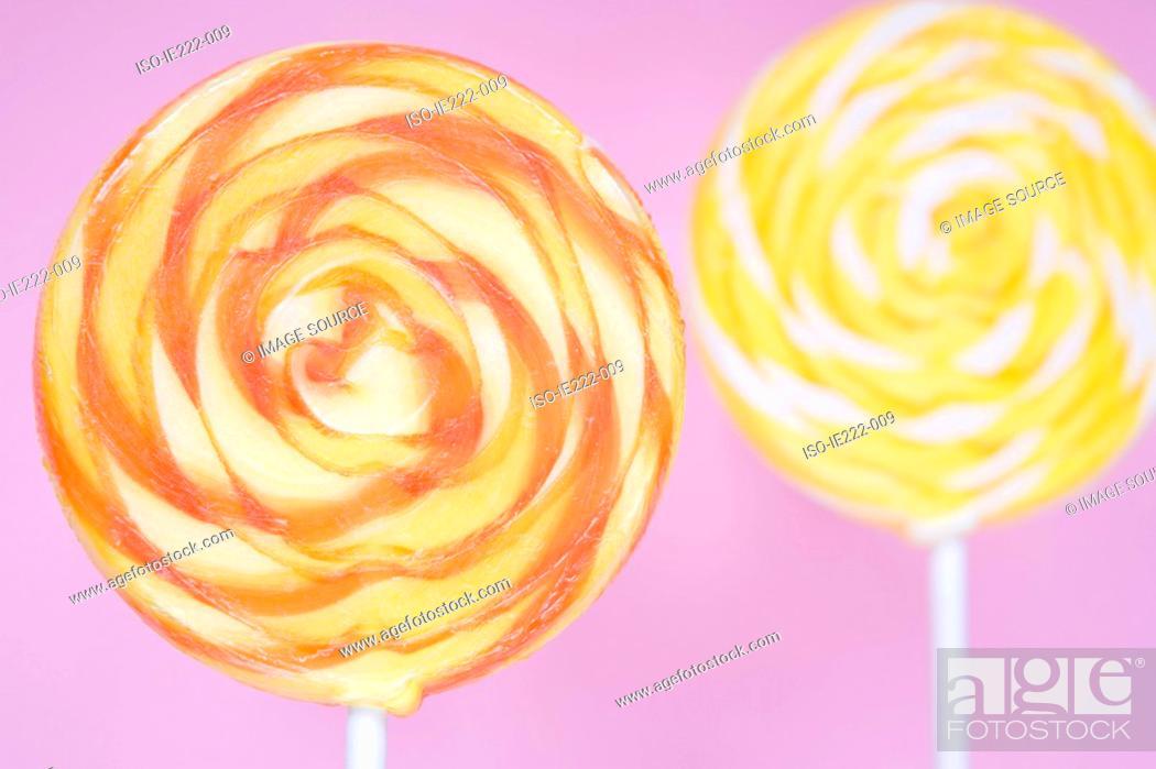 Stock Photo: Lollipops.