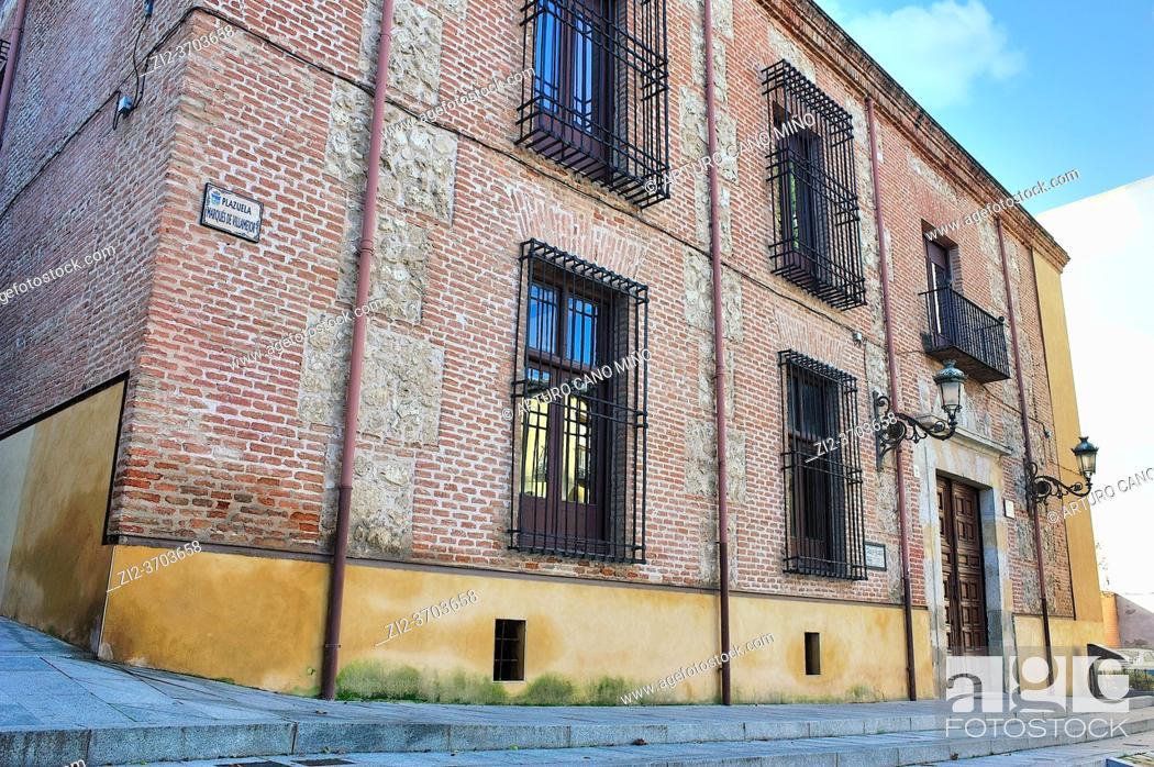 Stock Photo: The Palace of Cotilla. The17th century. Guadalajara city, Spain.