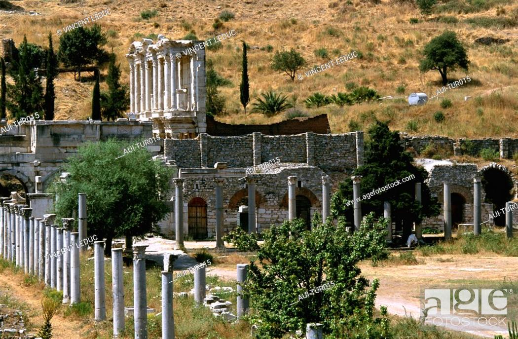 Stock Photo: Turkey - Mediterranean Coast.