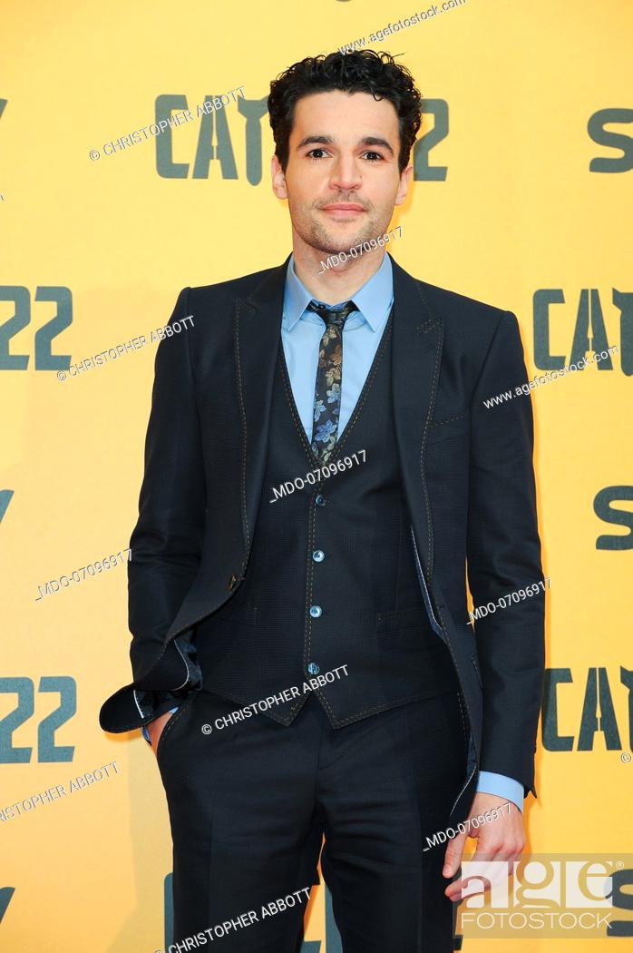 Stock Photo: American actor Christopher Abbott attends the premiere of the Sky TV serie Catch-22. Rome (Italy), May 13th, 2019.