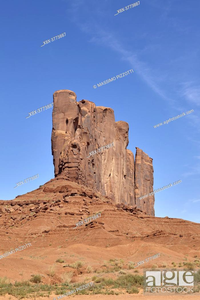 Stock Photo: Monument Valley, Arizona, United States.