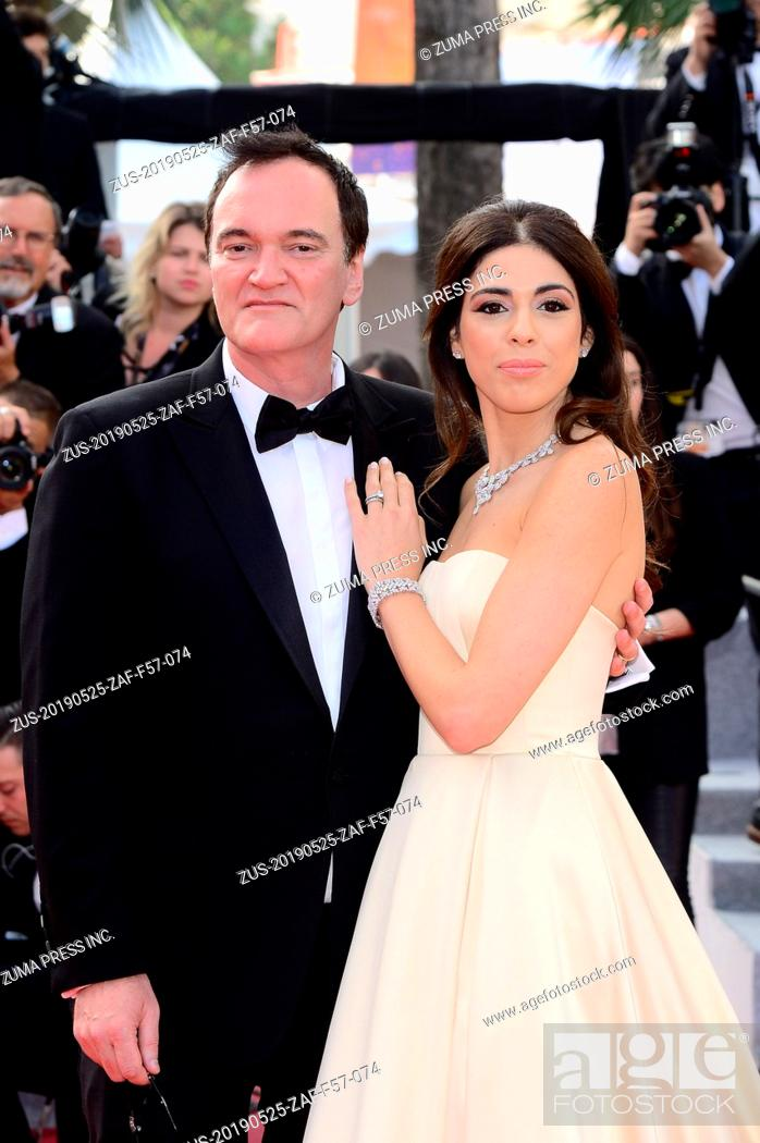 Stock Photo: May 25, 2019 - WORLD RIGHTS.Cannes, France, 25.05.2019, 72th Cannes Film Festival in Cannes. The 72th edition of the film festival will run from May 14 to May.