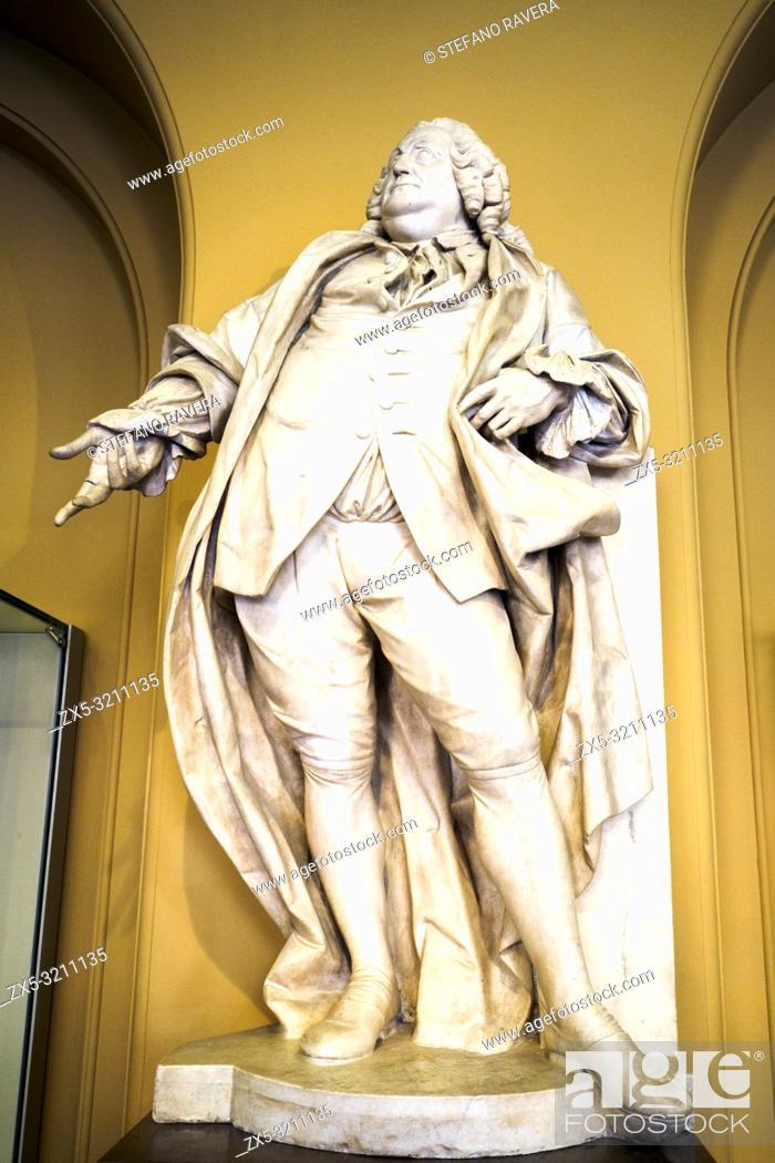 Imagen: Portrait of Joshua ward (1760-1764) by Agostino Carlini (1718-90). marble.