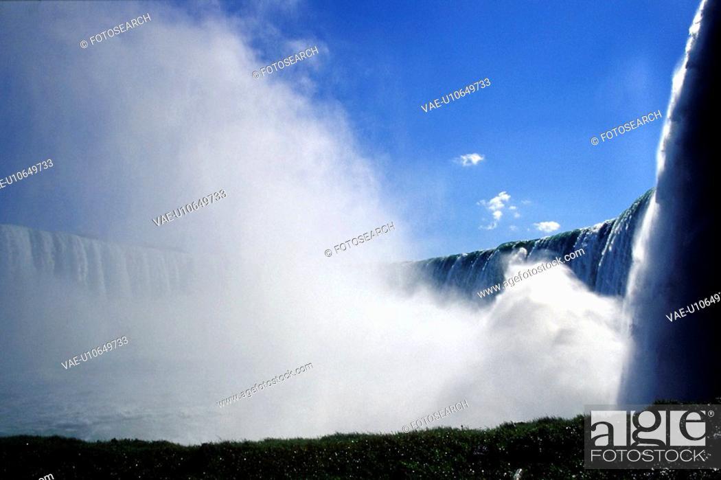 Stock Photo: faelle, blue, day, cascades, cascade, falls, american.