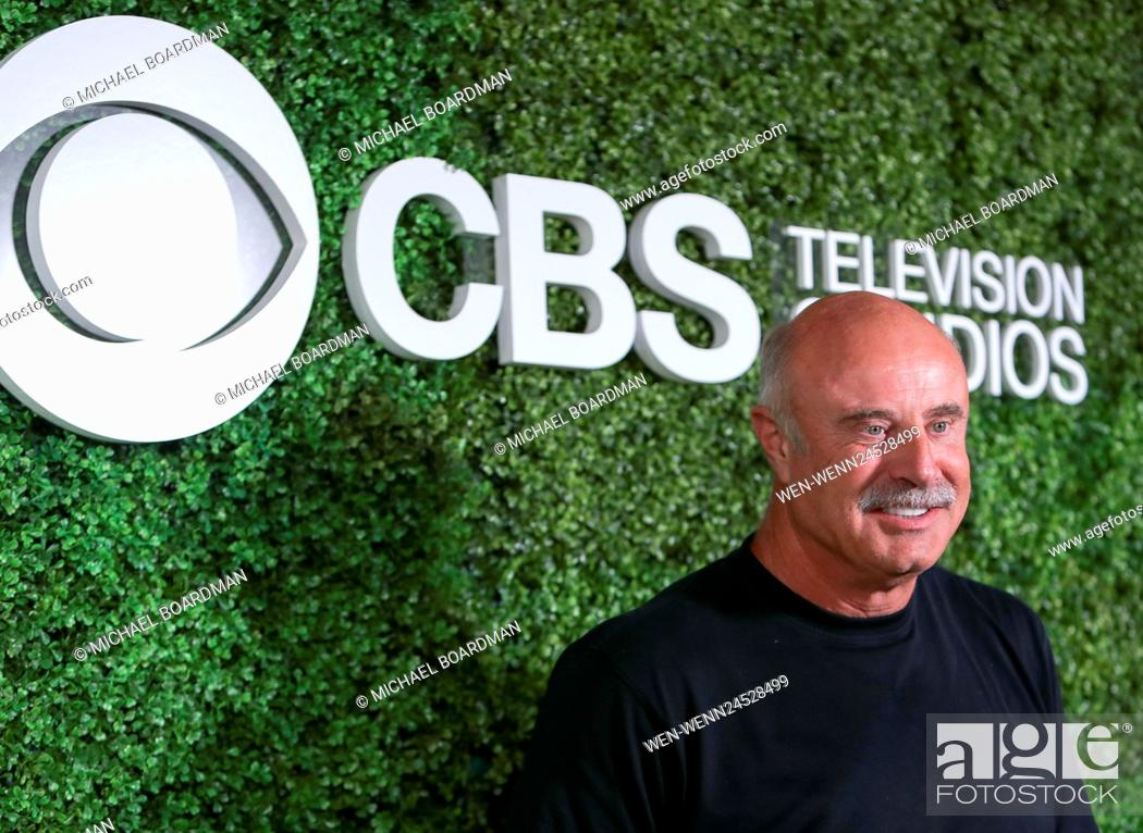 Stock Photo: 4th Annual CBS Television Studios Summer Soiree at Palihouse - Arrivals Featuring: Phil McGraw Where: West Hollywood, California.