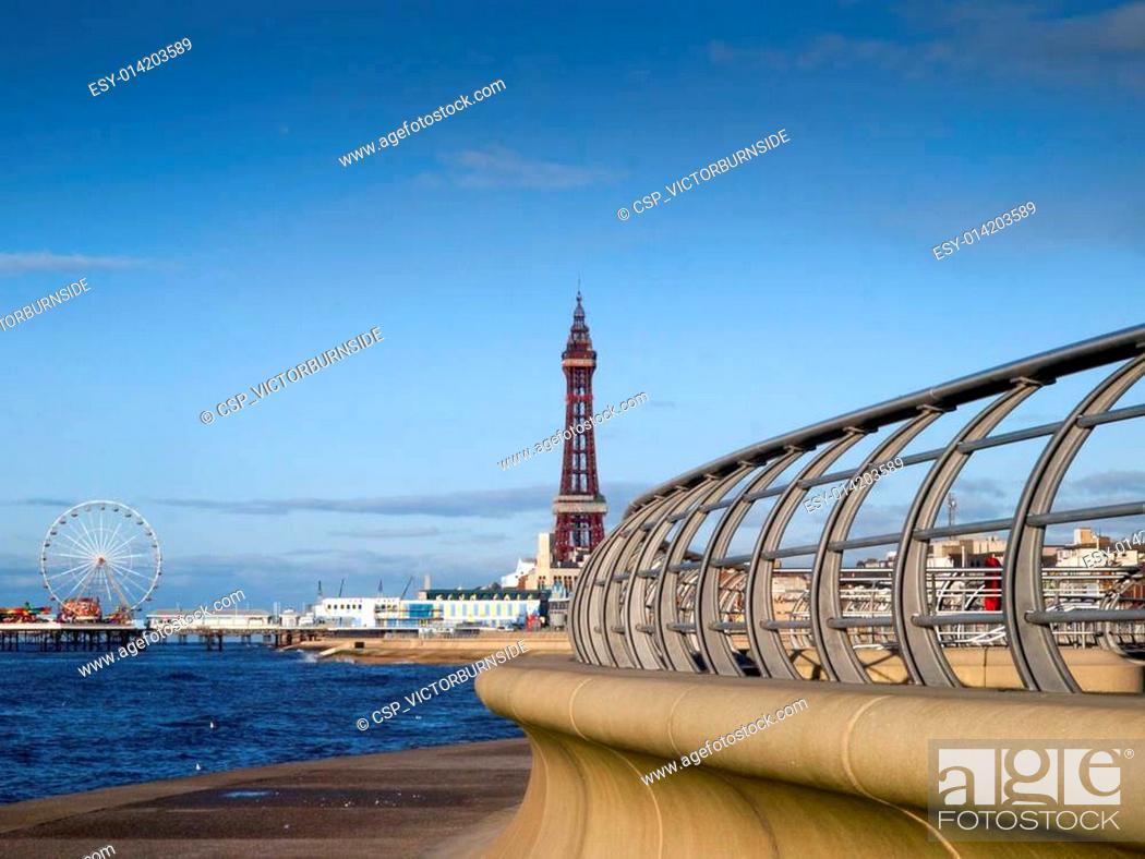 Stock Photo: Blackpool Tower.