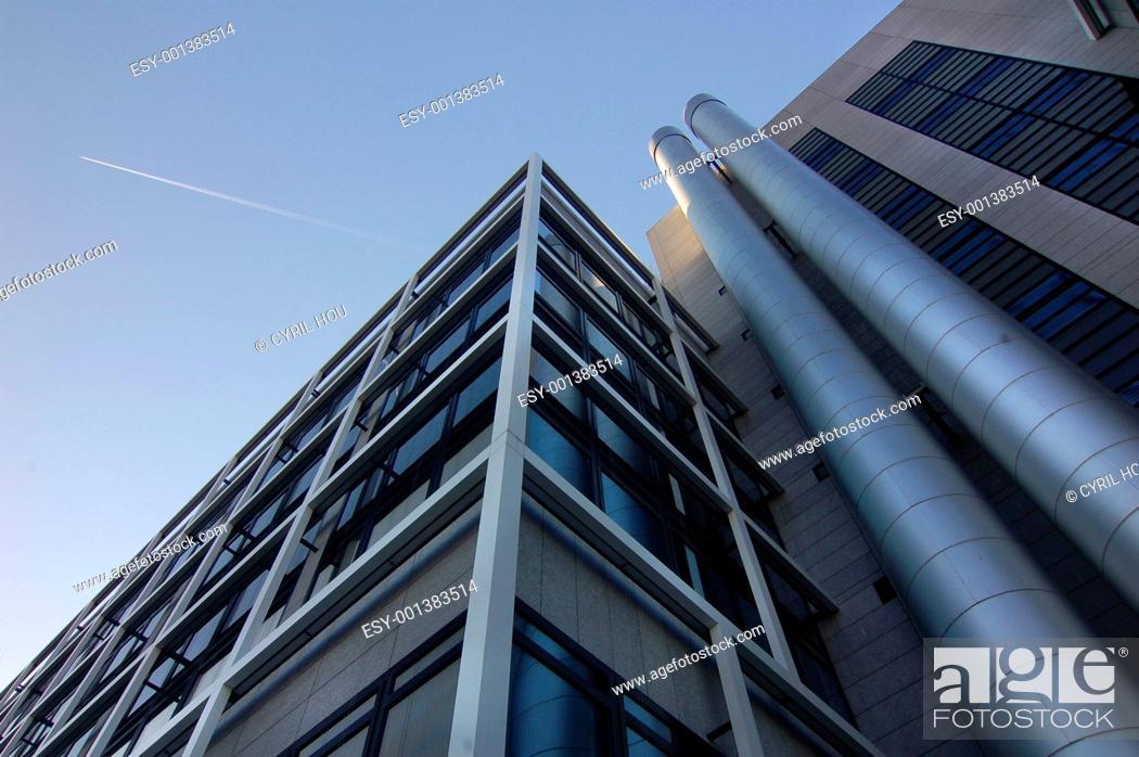 Stock Photo: Modern Architecture - CBD - Bank/Business district.