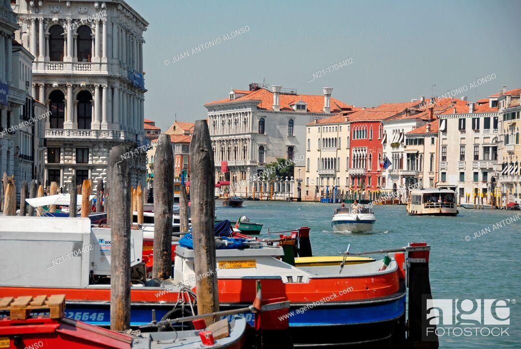 Stock Photo: Venice, Veneto, Italy, Europe.