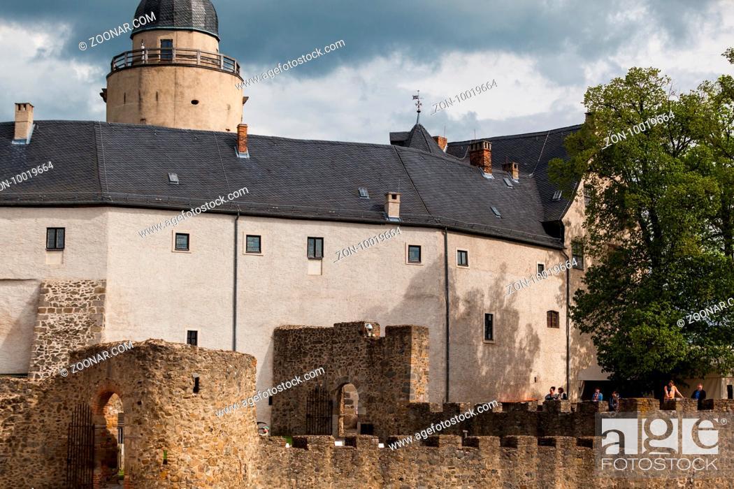 Stock Photo: Burg Falkenstein im Harz.