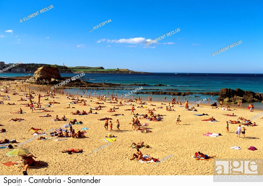 Stock Photo: Spain - Cantabrie - Santander Spain.