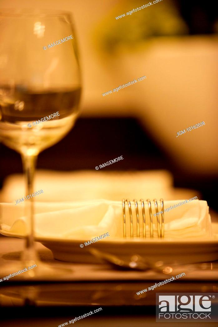 Stock Photo: Place Setting Close-up.