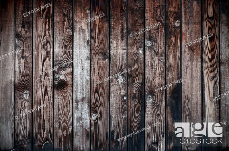 Stock Photo: Old Wooden Texture.