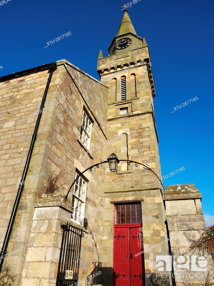 Imagen: Ceres Parish Church Ceres Fife Scotland.