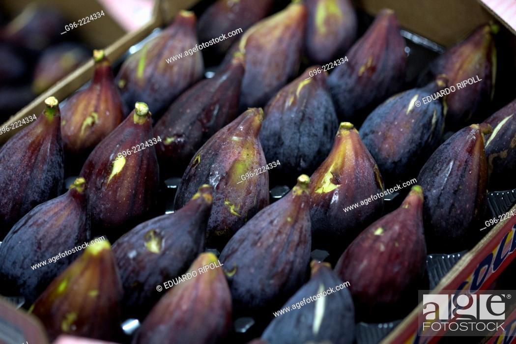 Stock Photo: Fig factory in Albatera, Alicante, Spain.