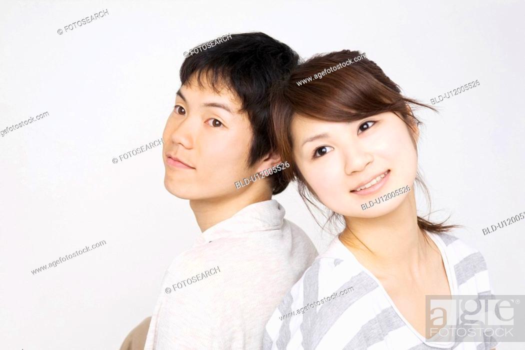 Stock Photo: Cuddling up sweetheart.