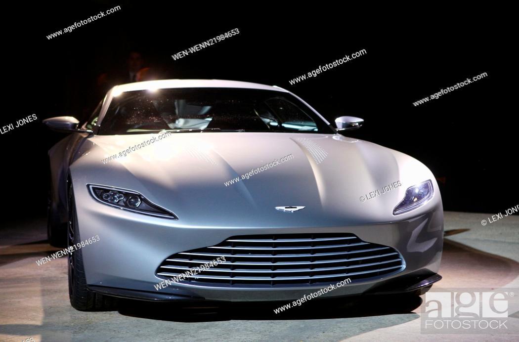 James Bond Spectre Film Photocall Featuring Aston Martin