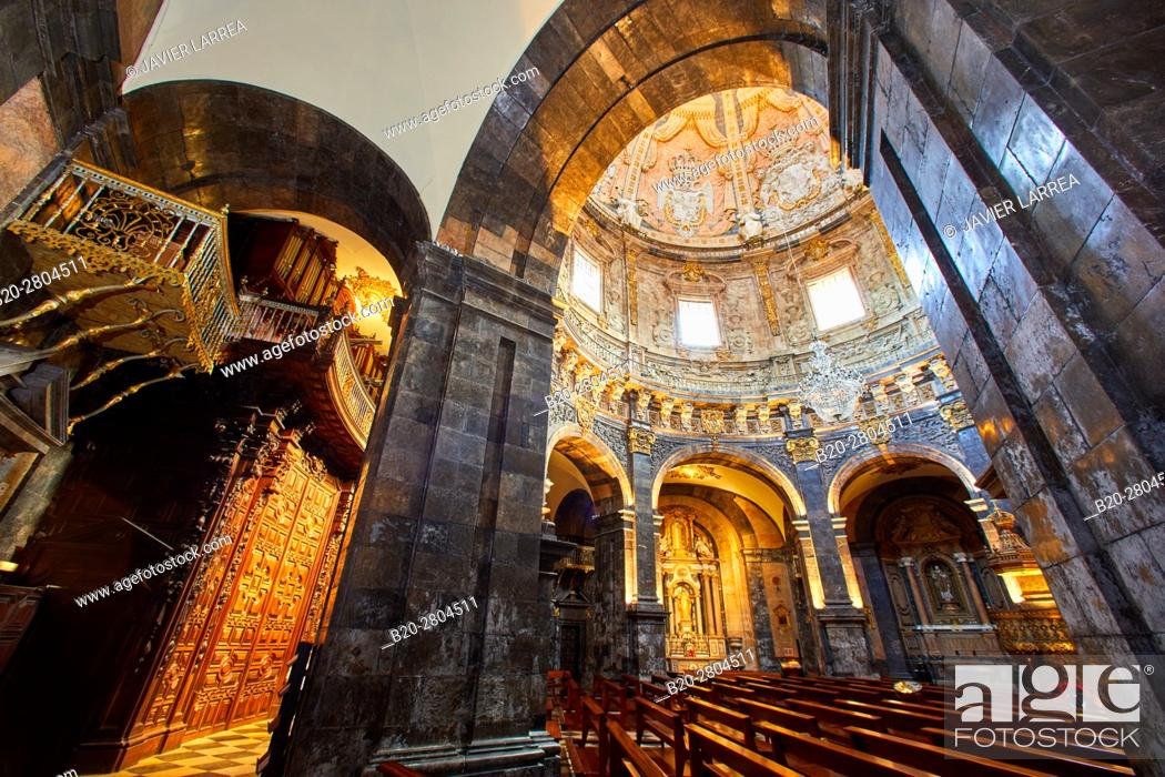 Stock Photo: Santuario San Ignacio de Loyola, Camino Ignaciano, Ignatian Way, Azpeitia, Gipuzkoa, Basque Country, Spain, Europe.