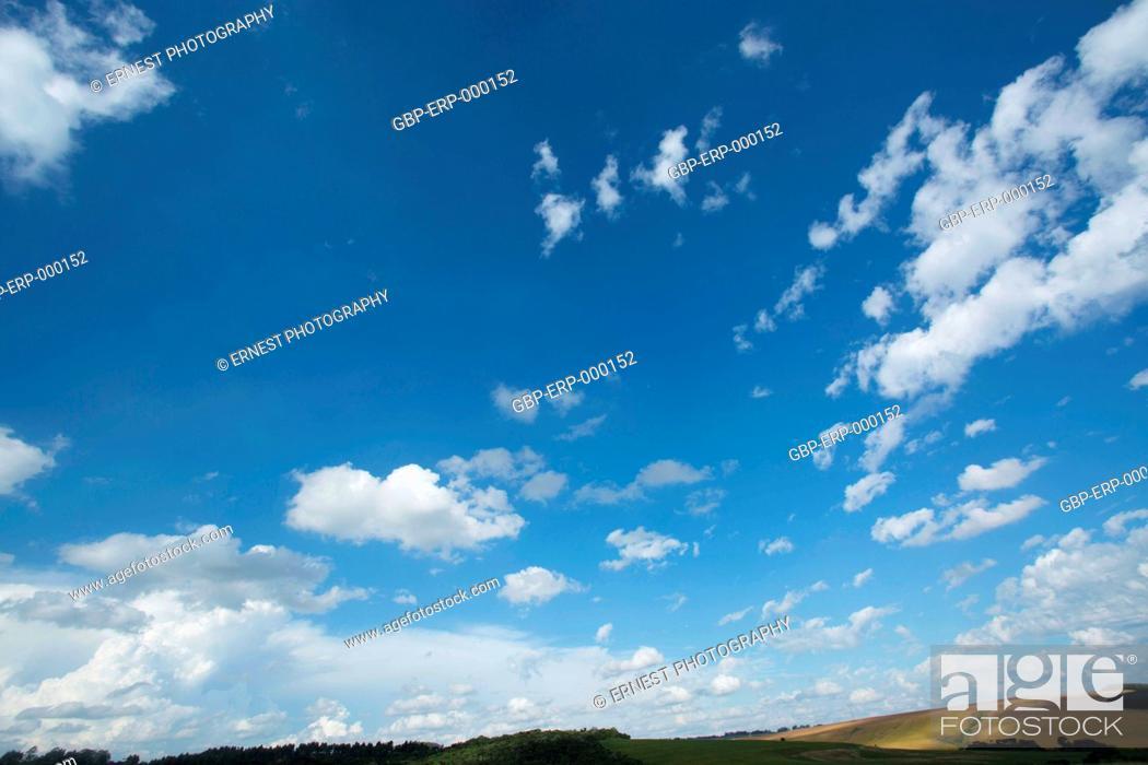 Imagen: Farm; blue sky;.