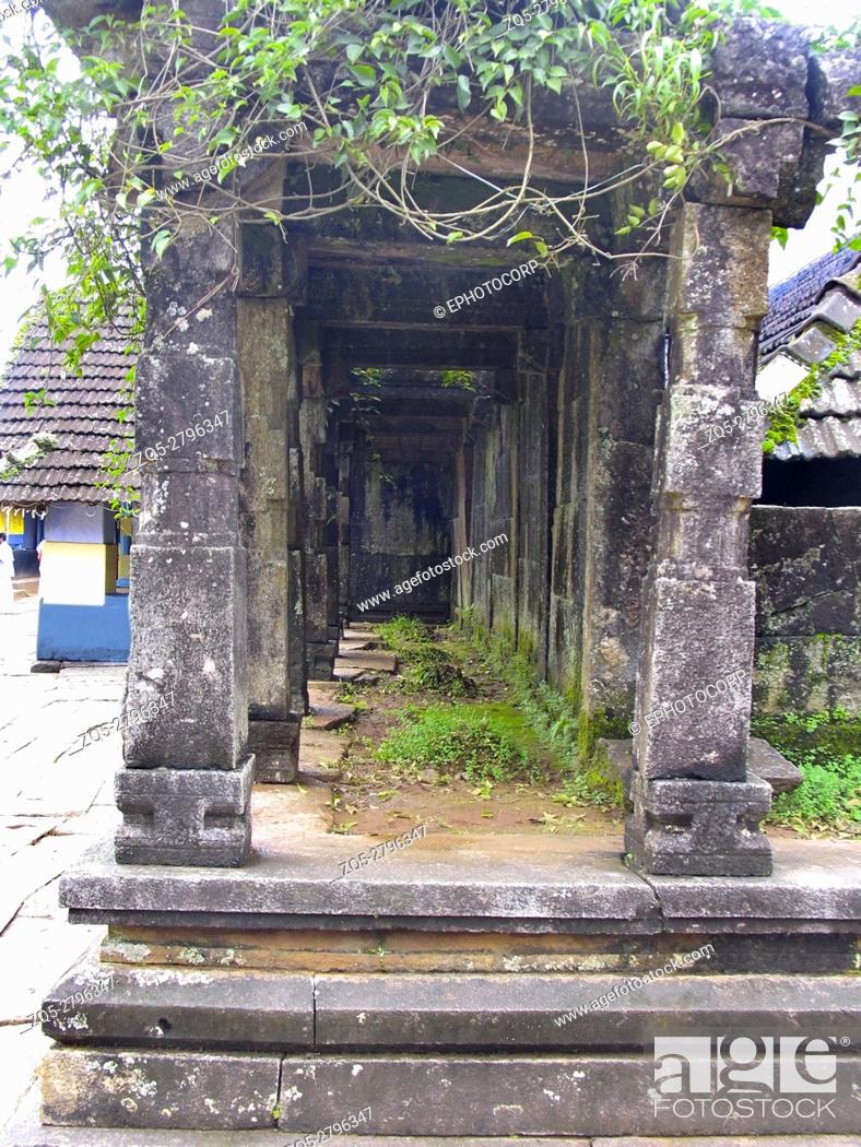 Dakshina Kashi temple, Thirunelli, Kerala, India, Stock