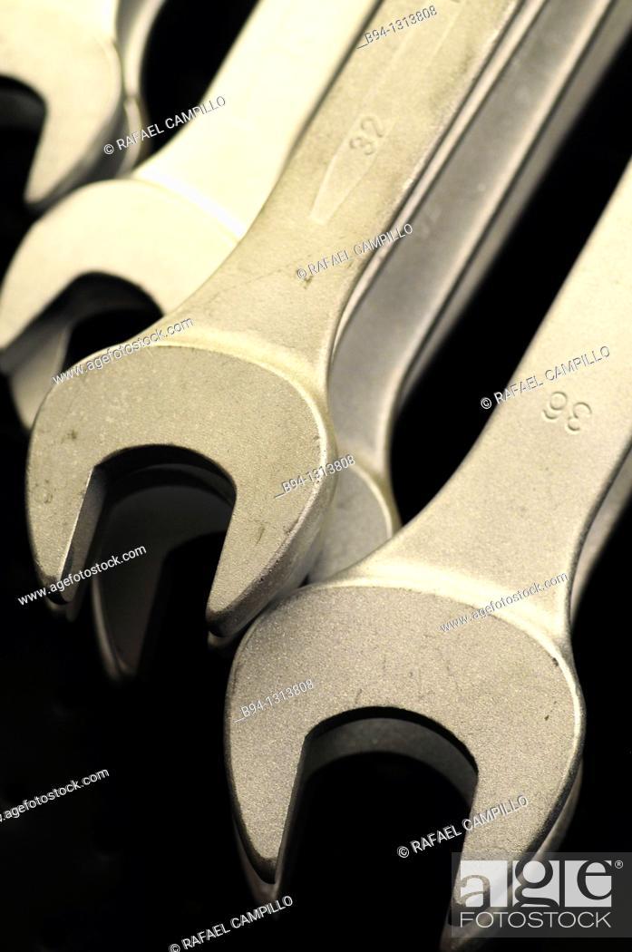 Stock Photo: Tools.