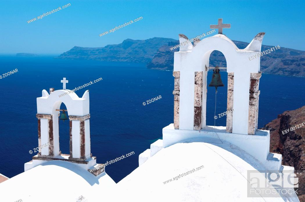 Stock Photo: Santorini.