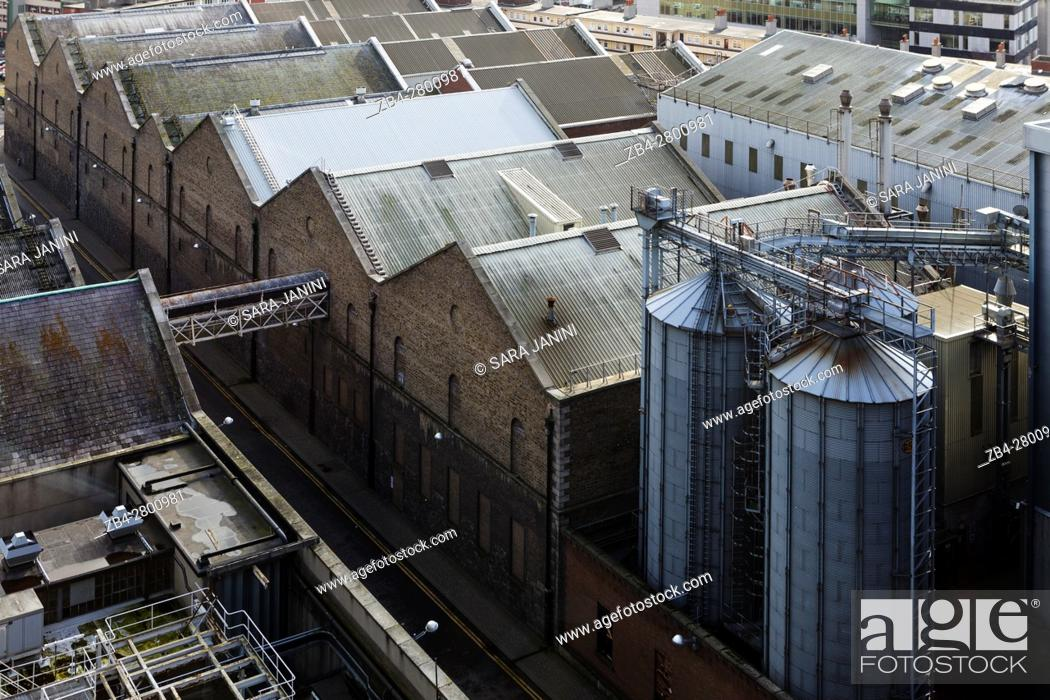 Stock Photo: Guinness Factory, Dublin, Ireland, Europe.