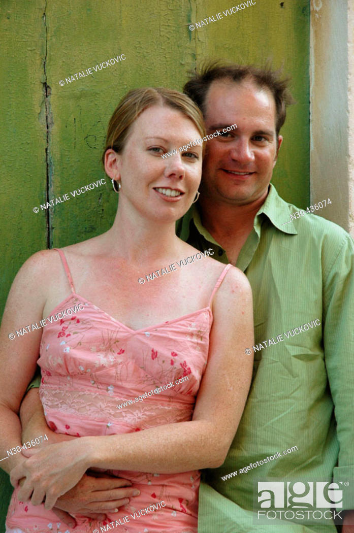 Stock Photo: Portrait of Young Couple.