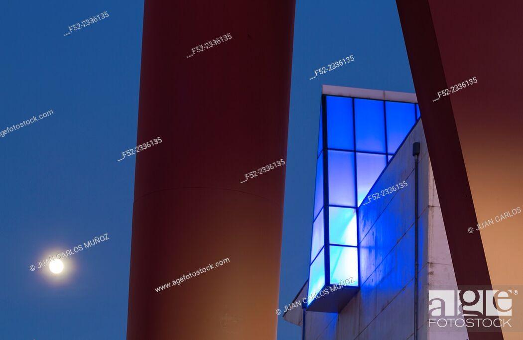 Stock Photo: Artium, Contemporary art museum, Vitoria, Alava, Basque Country, Spain, Europe.