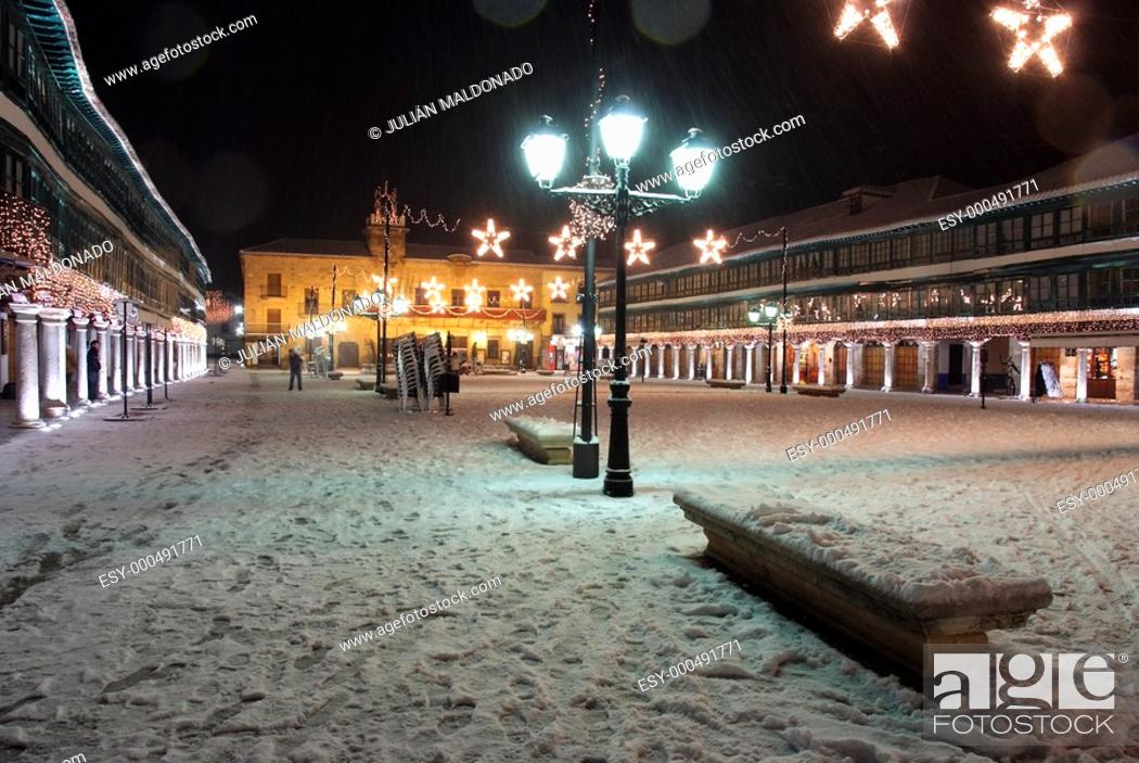 Stock Photo: Plaza Mayor de Almagro.