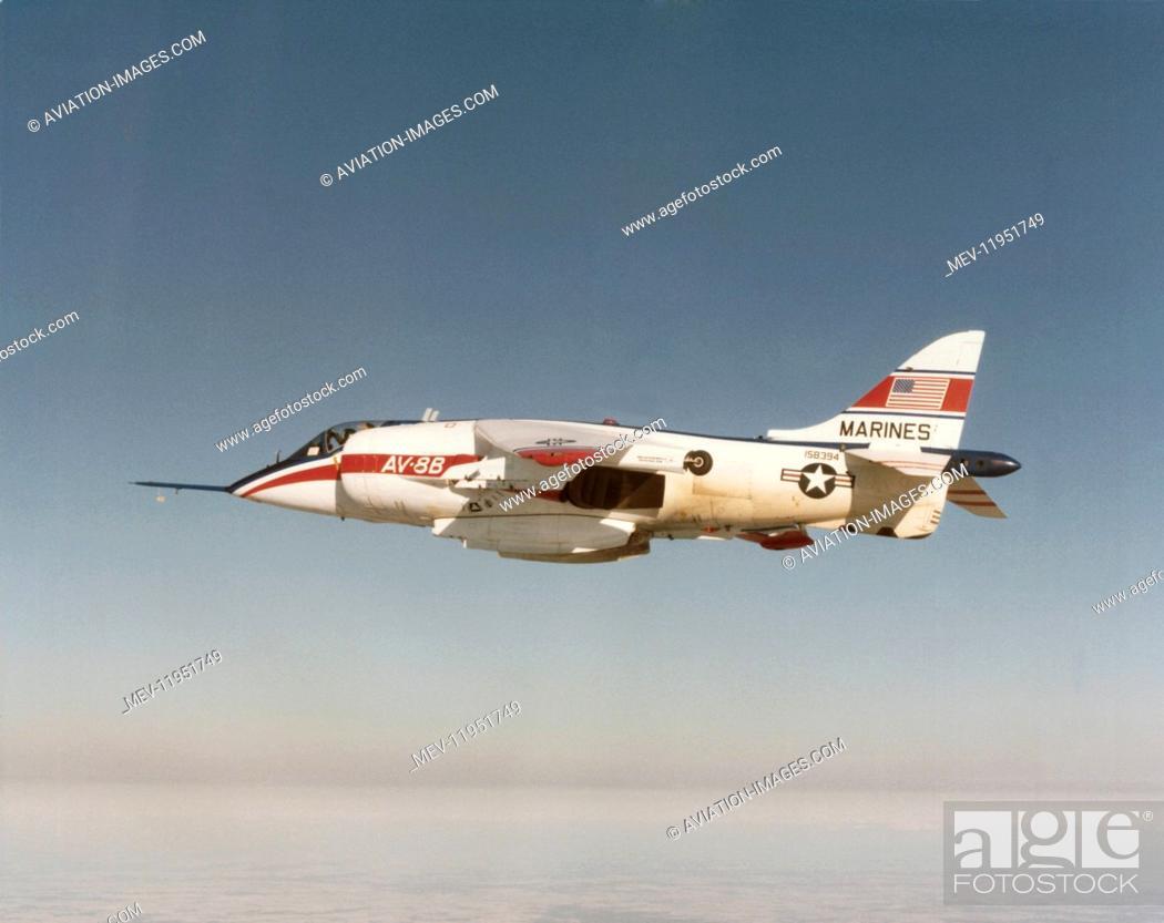 - 27-MC Harrier II Plus MARINE CORPS BOEING AV-8B+ stampe 13x19 aereo. U.S R