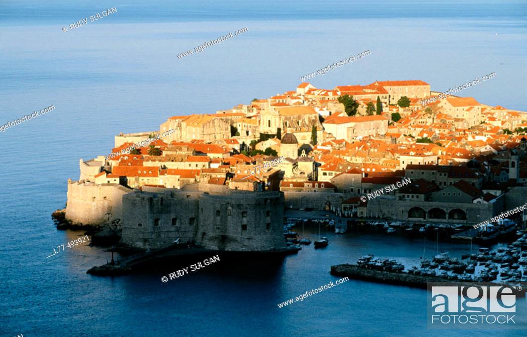 Stock Photo: Dubrovnik. Dalmatia. Croatia.