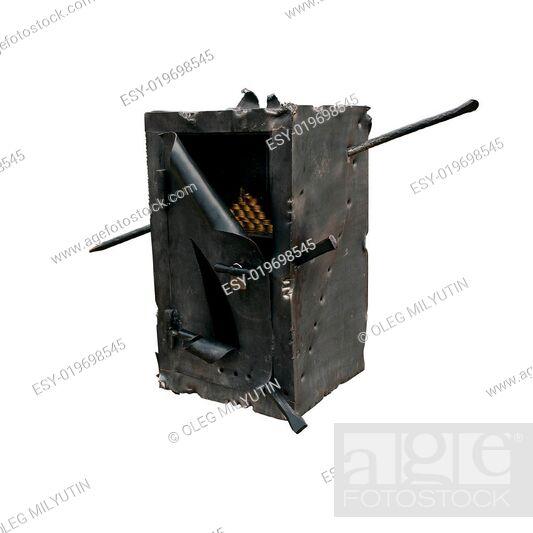 Photo de stock: Blow open safe.